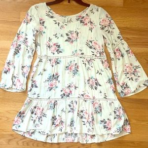 Forever 21 Spring Floral print tunic